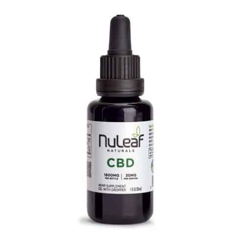 NuLeaf Naturals Full-Spectrum Hemp CBD Oil
